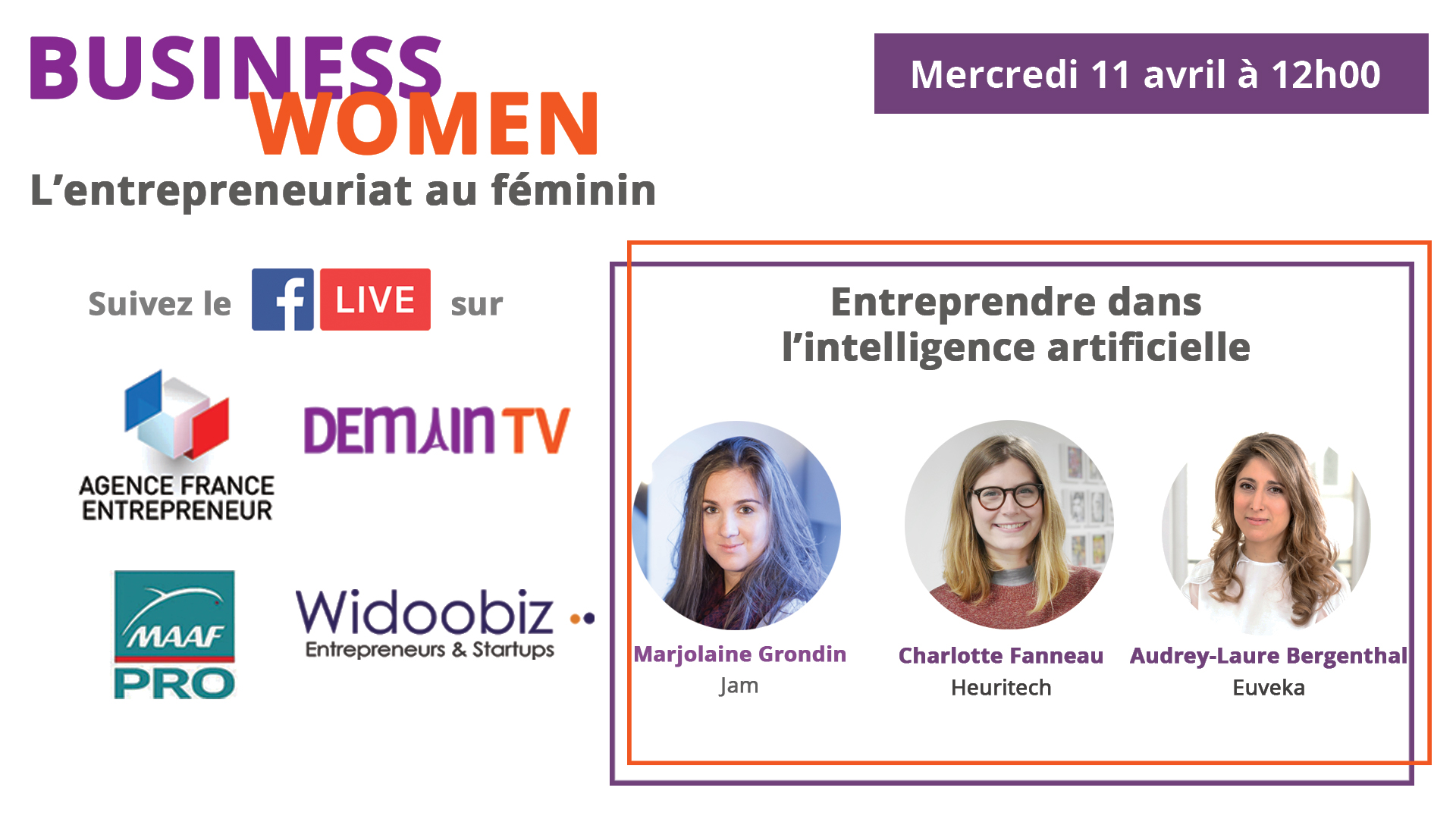 BUSINESS WOMEN : L'INTELLIGENCE ARTIFICIELLE